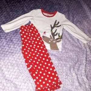 2T Christmas pajamas
